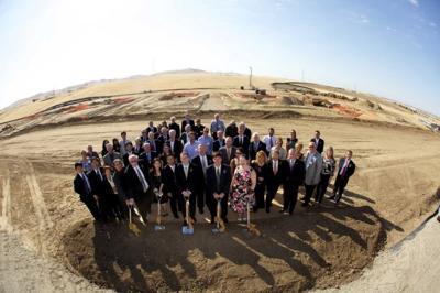 Mariposa Energy Project breaks ground