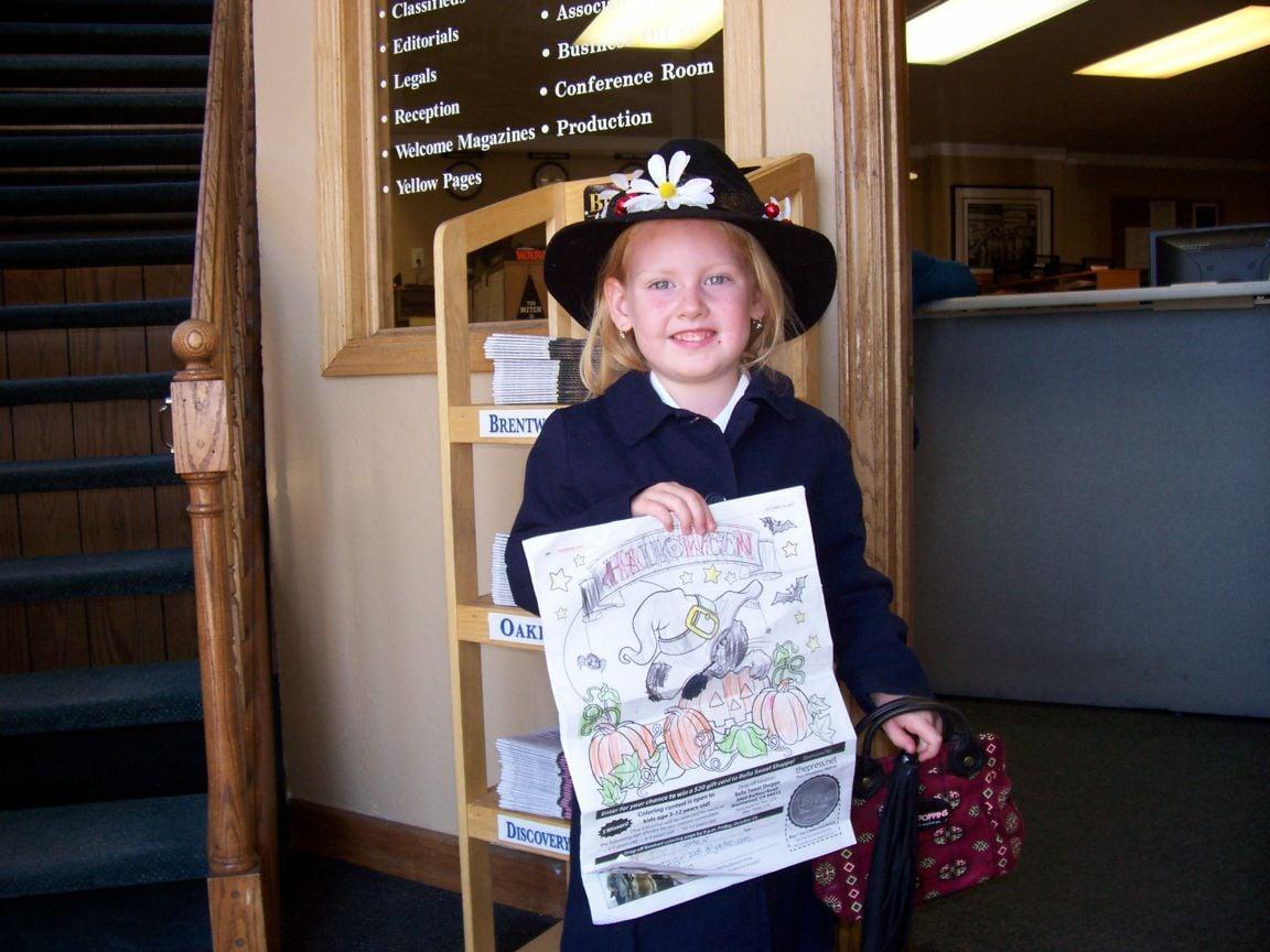 Zorha W.- Halloween Coloring Contest Winner