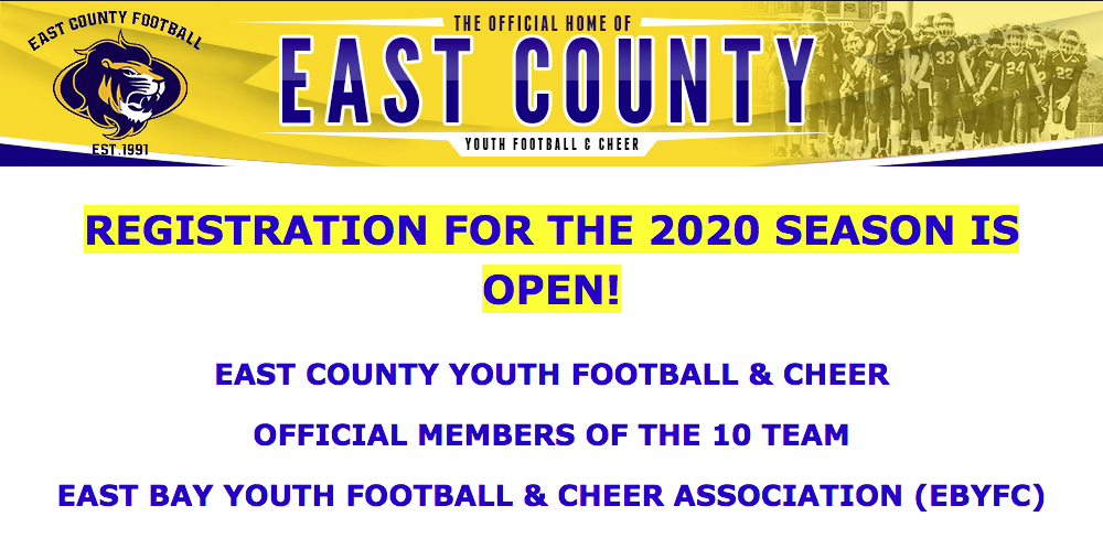 East County Youth Football & Cheer