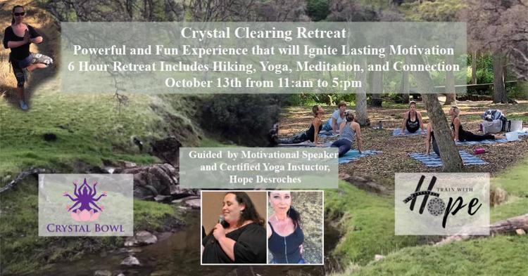 hike and yoga retreat