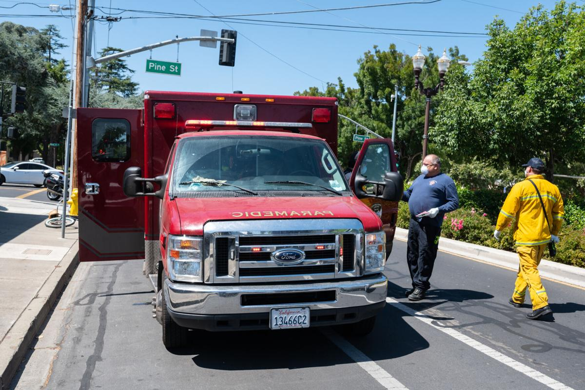 Bike Accident Brentwood 8-6-2020