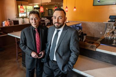 Chianti's co-owners Al Mancini and Shayan Rahimi