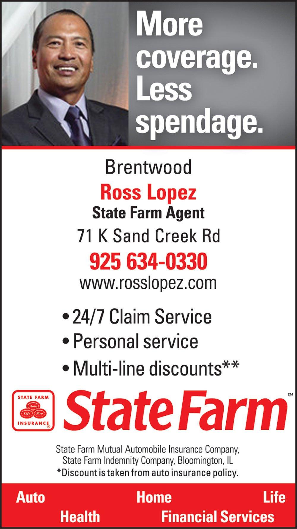 State Farm Insurance, Ross Lopez   homeowner insurance ...