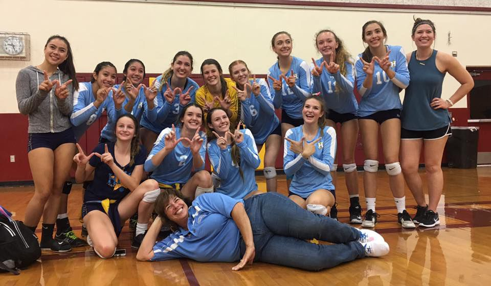 Heritage High School girls' volleyball team wins league ...