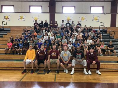 Liberty youth basketball camp
