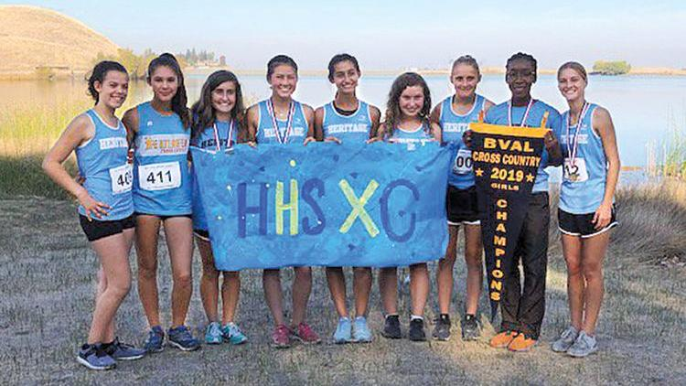 Liberty boys, Heritage girls win BVAL cross-country championships
