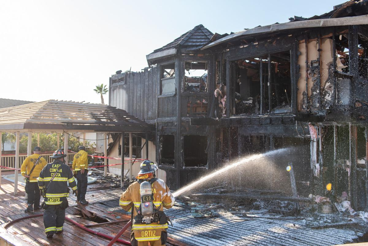 Discovery Bay fire