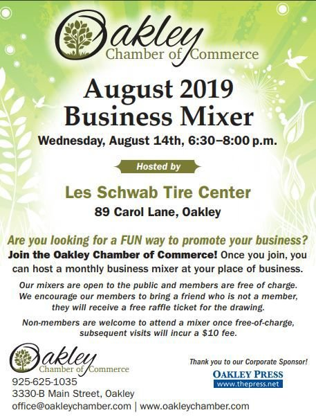 Oakley Chamber of Commerce August Mixer
