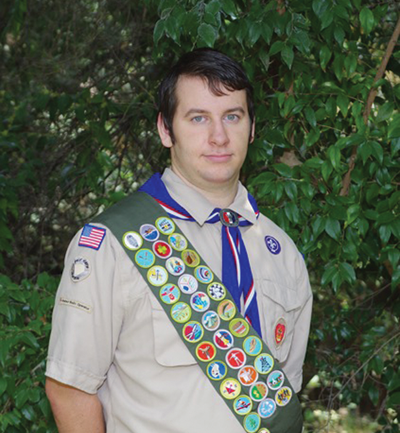 Eagle Scout Jonathan Wilkes