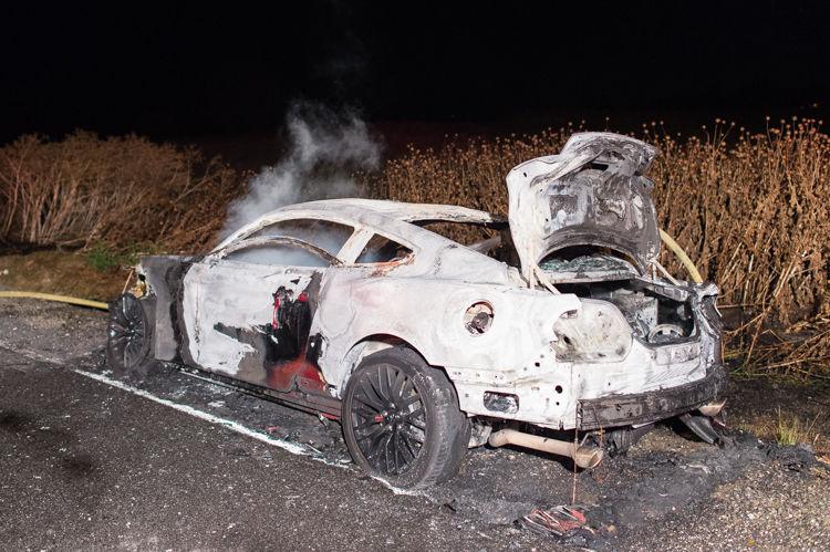 Stolen Car Burns On Bethel Island News Thepressnet - Stolen car