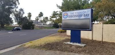 Discovery Bay signboard