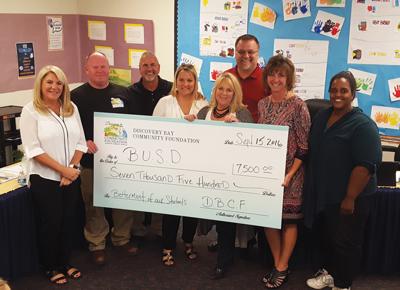 DBCF donates to local schools