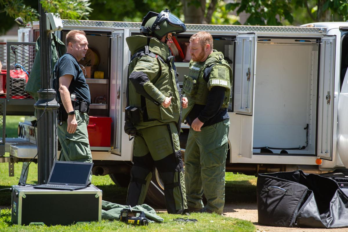 Bomb squad responds to Bethel Island