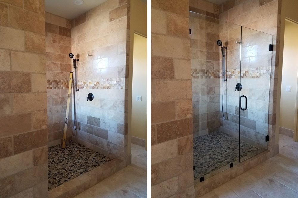 Before & After Shower 3