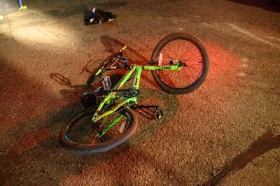 Boy struck by vehicle