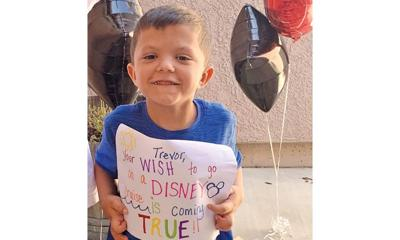 Wish comes true for Oakley first-grader