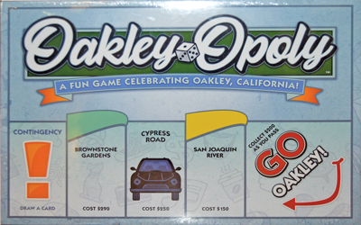 Oakley-Opoly passes go, collects $200