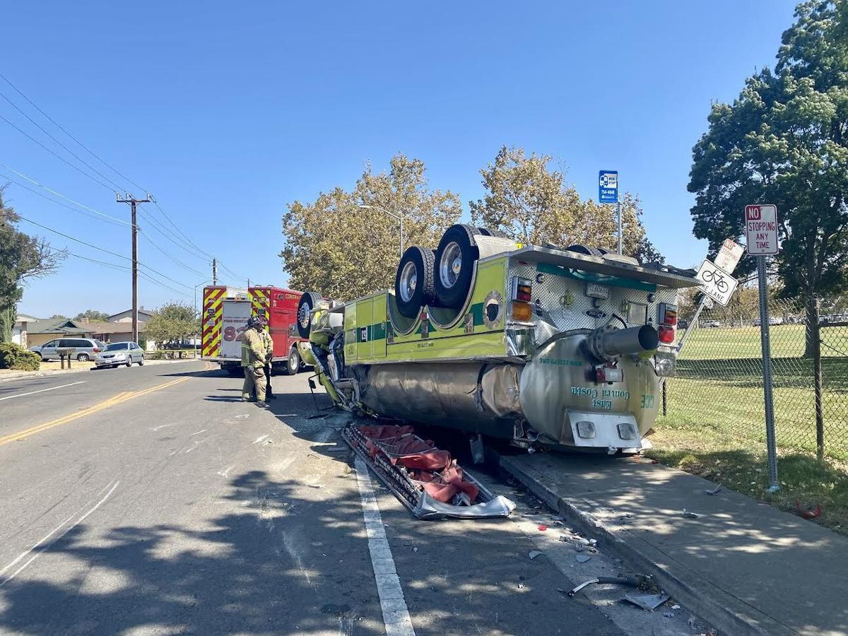 Water Tender crash 2