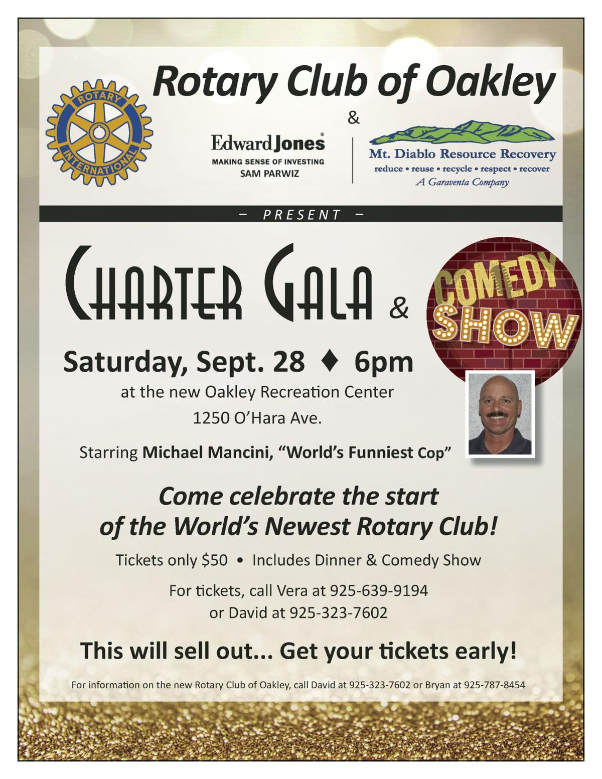 Rotary Club of Oakley Charter Gala