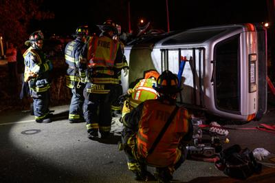Rollover accident 11-3-19
