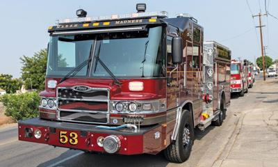 First new engine goes into service in East County