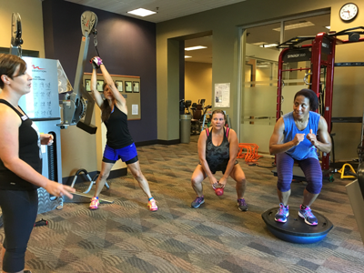 Diamond Hills Lean Up fitness program