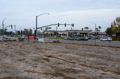 Proposed gas station site