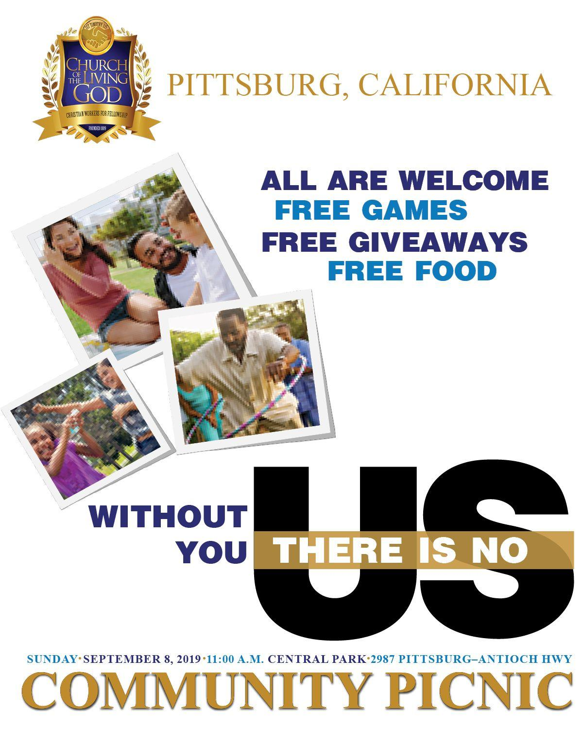 Church of the Living God-Pittsburg 2019 Community Picnic in the Park
