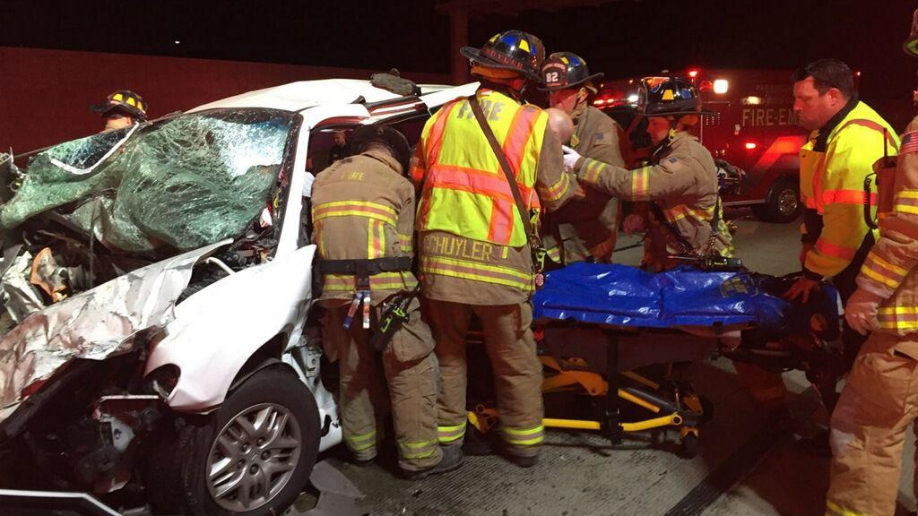 [Photos] Brentwood family healing after serious car accident