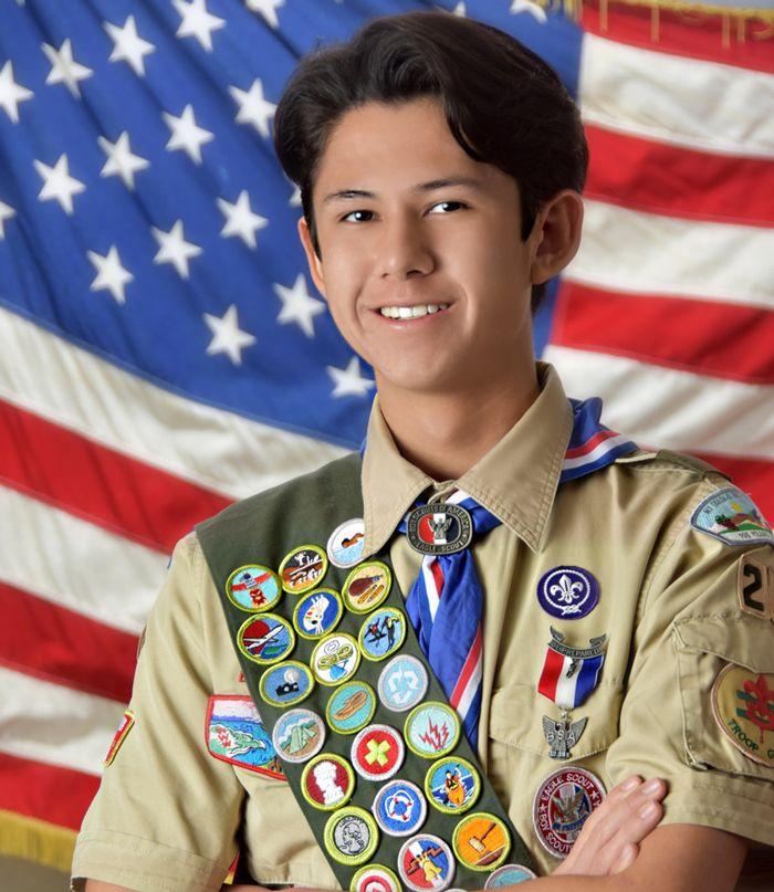 Cole Preciado attains Eagle Scout rank