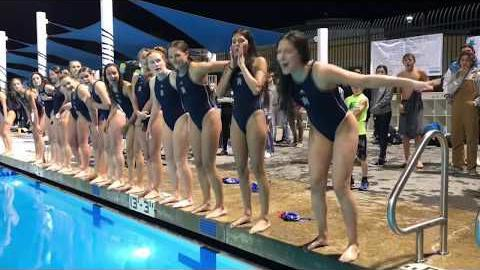 [Video] Heritage defeats Liberty in girls' water polo playoff game