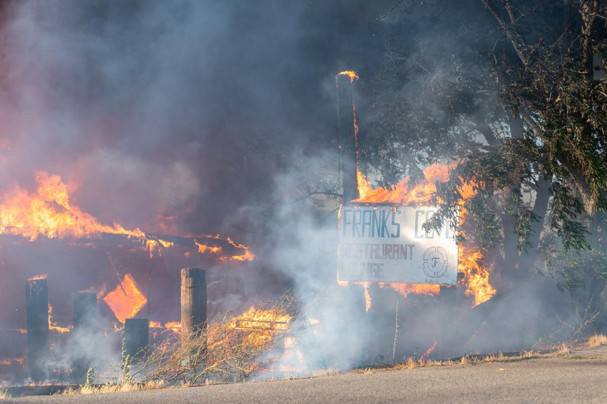 Franks Cove Fire