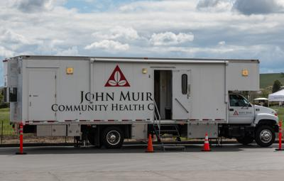 John Muir Medical Center holds drive-up testing for authorized patients