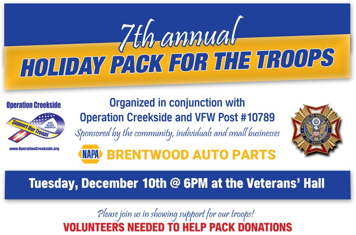 Brentwood Auto Holiday Pack for Troops 2019