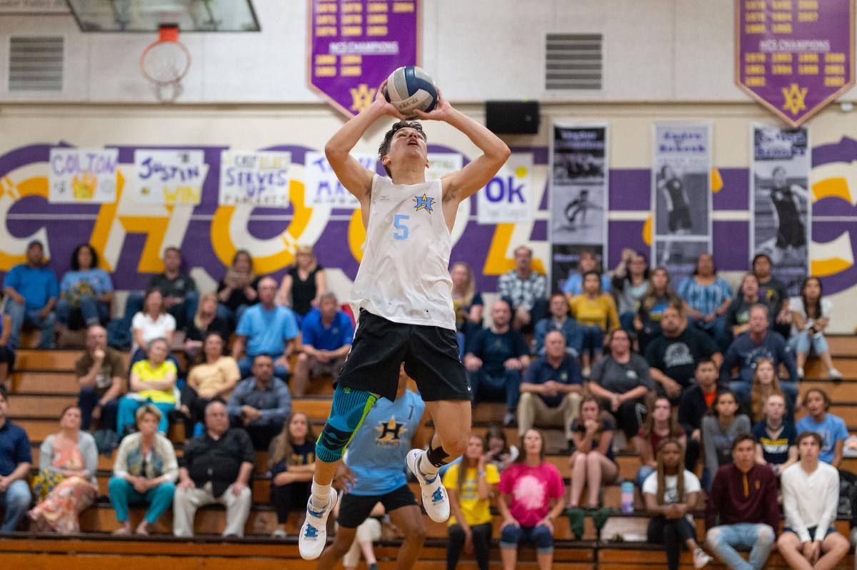 SP HHS boys volleyball ncs semifinal