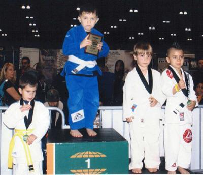 Junior jitsu champ