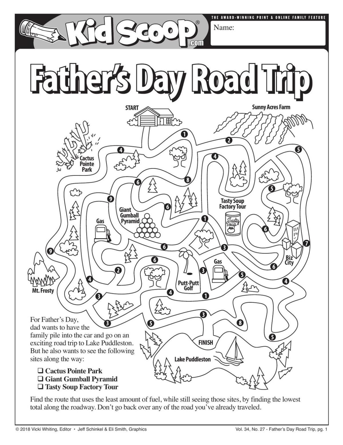 Father's Day Road Trip