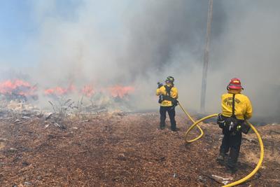 BN Oakley vegetation fire 8-7-19