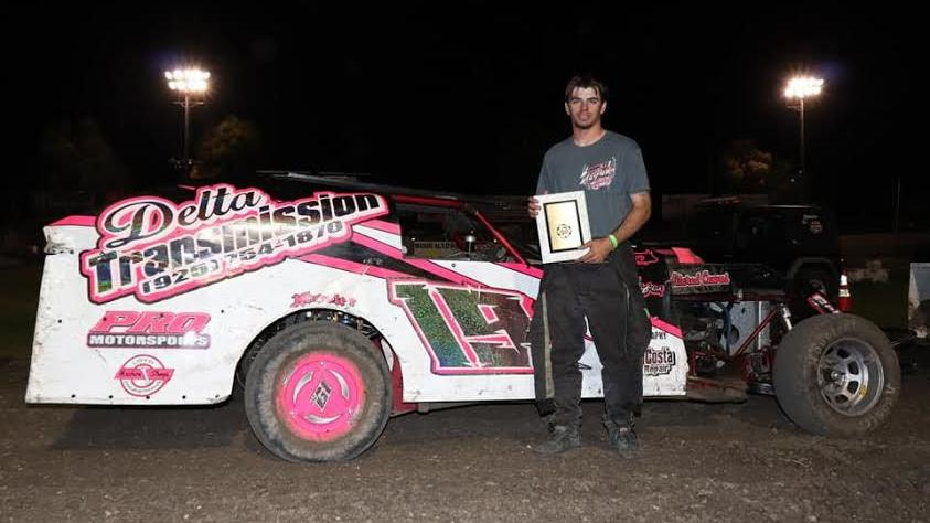 Freedom High School senior beats out the competition at Antioch Speedway