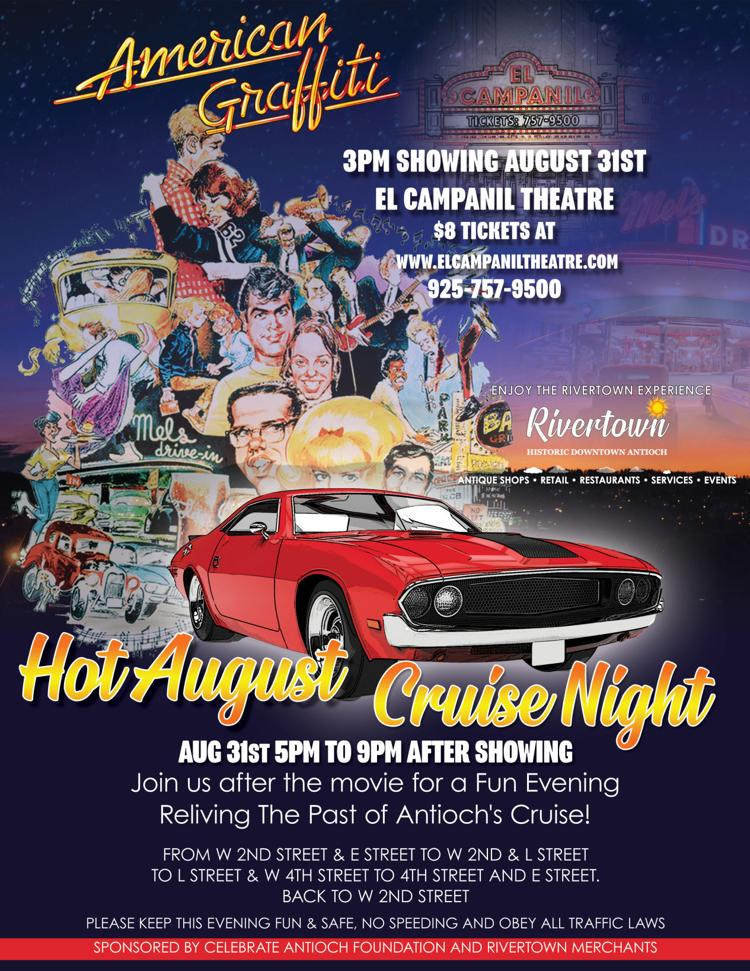 American Graffiti and Hot August Cruise Night!