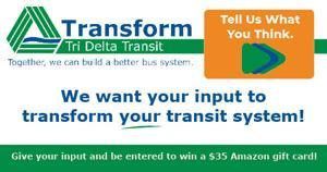 Tri Delta Transit Transform Ad