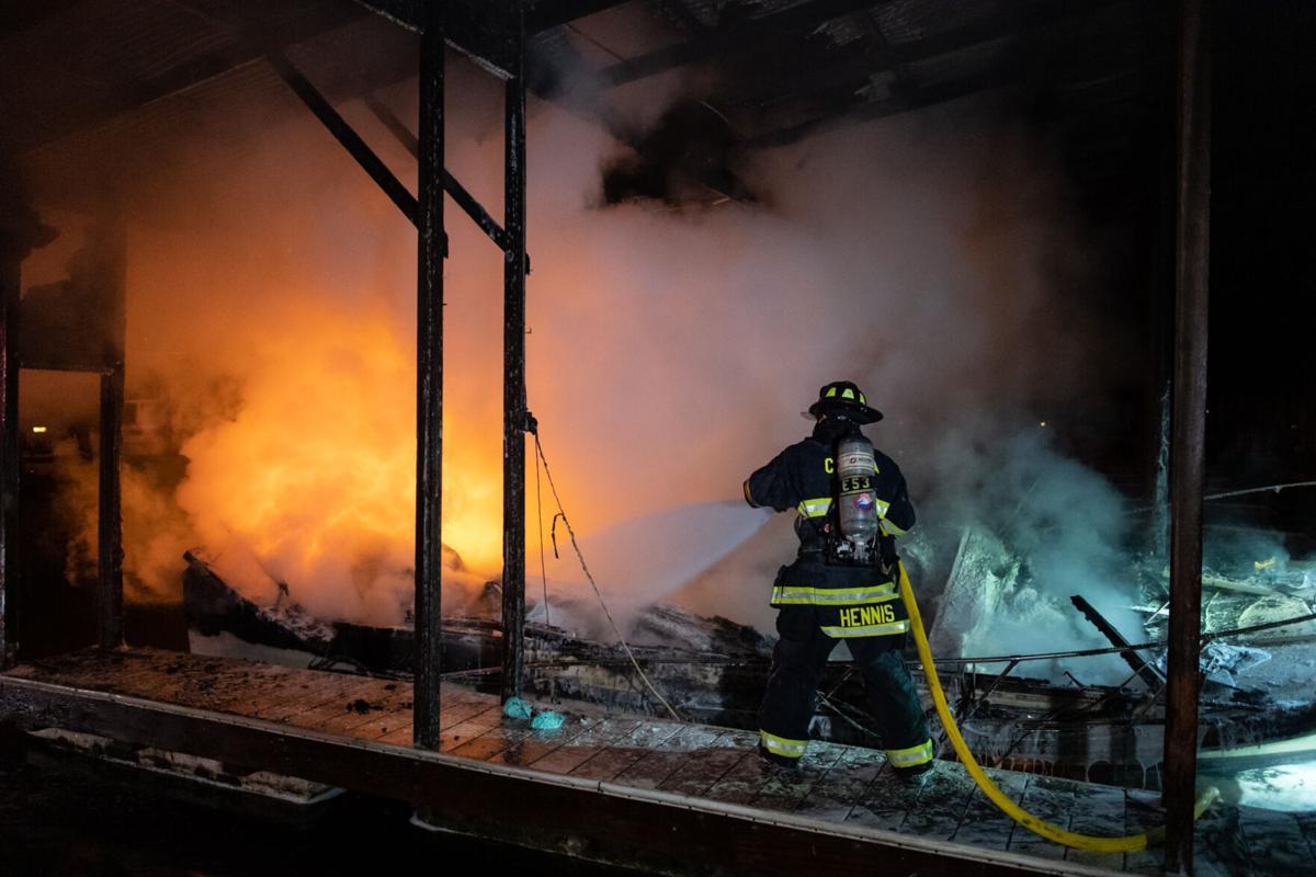 Boat fire in Bethel Island 272021