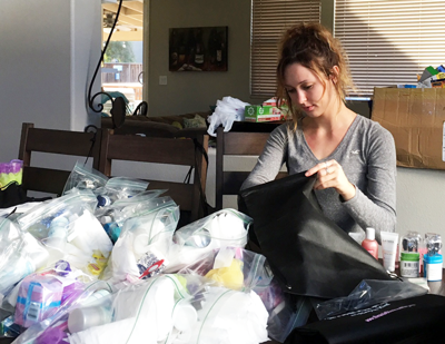 Katelyn Cunningham of Act of Kindness homeless assistance program