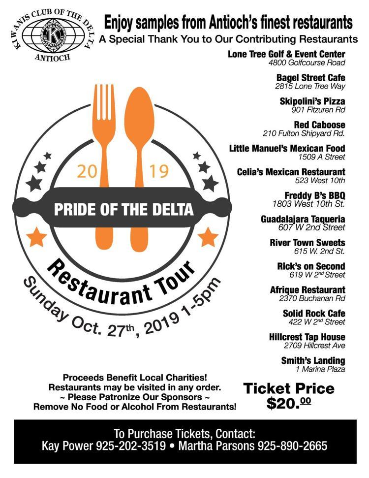 Pride of the delta Restaurant Tour