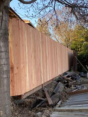 Pic 5 John's Tree Service - Fencing