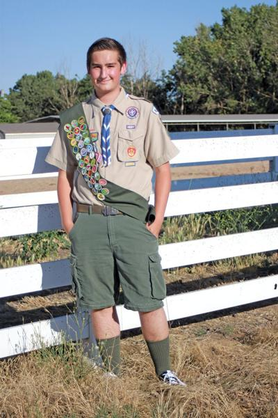 Brandon Wortman, Eagle Scout