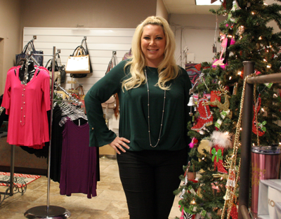 Lenna Billeci of Socialyte Boutique in downtown Brentwood