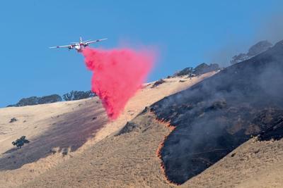 Marsh Complex Fire burns 757 acres