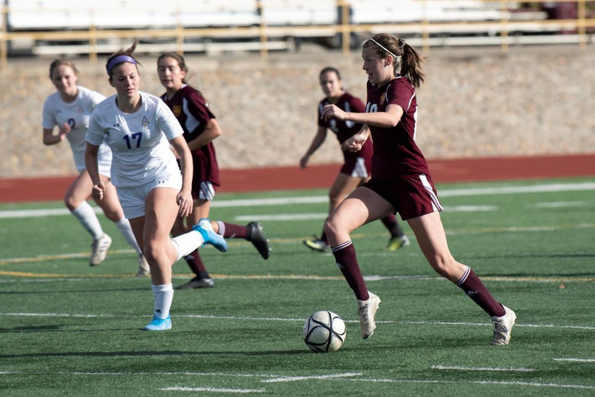 Liberty vs Amador girls soccer
