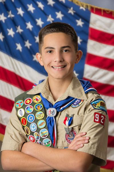 Aaron eagle scout